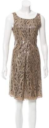 Tibi Sleeveless Lace Dress
