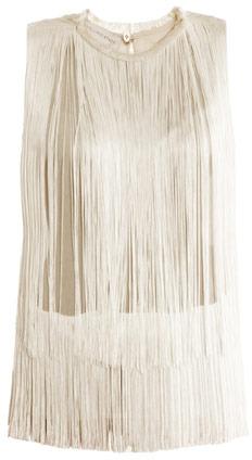 Stella McCartney Columbia fringe blouse