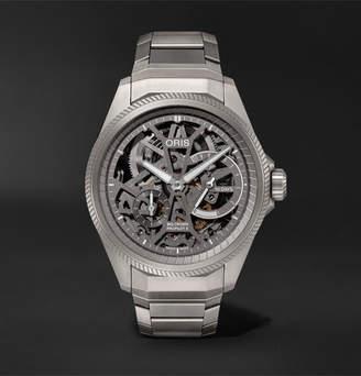 Big Crown Propilot X Hand-Wound Skeleton 44mm Titanium Watch