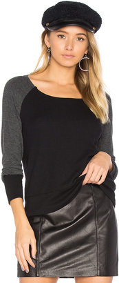 Splendid Thermal Mixed Media Top $88 thestylecure.com