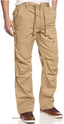 Sean John Men's Pleat Pocket Flight Cargo Pants