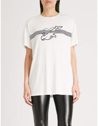 Vionnet x Marc Quinn whale stretch-jersey T-shirt