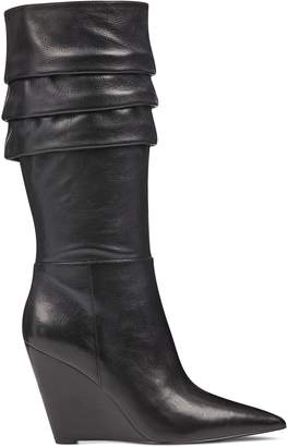 Vernese Scrunched Wedge Boots