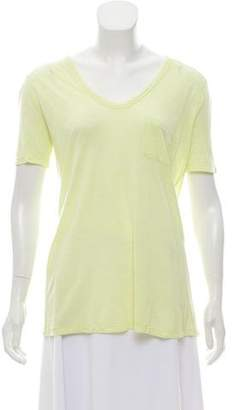 Alexander Wang Short Sleeve Scoop Neck T-Shirt