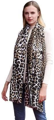 Bomdes Newly Fashion Women Leopard Print Long Soft Shawl Scarf Wraps Scarves