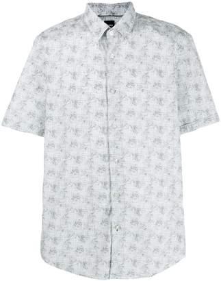 HUGO BOSS abstract print shirt
