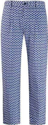 Altea geometric print trousers