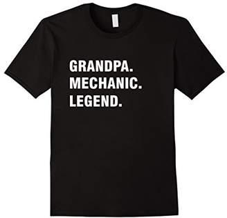 Grandpa Mechanic Legend T-shirt Gift For Grandpa Shirt