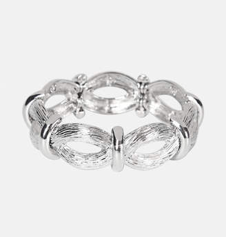 Avenue Textured Infinity Stretch Bracelet