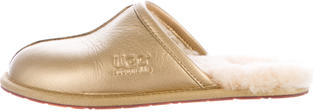 UGG UGG Australia Metallic Shearling Slippers