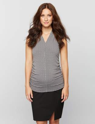 A Pea in the Pod Secret Fit Belly Maternity Pencil Skirt