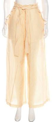 Nicholas High-Rise Wide-Leg Pants w/ Tags