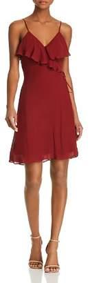Bailey 44 Peppercorn Faux-Wrap Dress