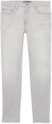 Banana Republic Athletic Tapered Rapid Movement Denim Gray Wash Jean