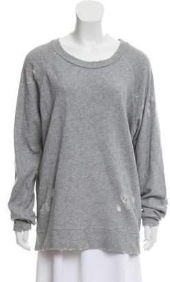 IRO 2018 Zarasai Distressed Sweatshirt w/ Tags