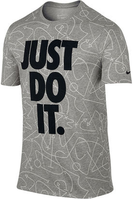 Nike Short-Sleeve Just Do It Tee - Big & Tall $30 thestylecure.com