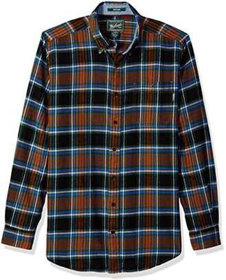 Woolrich Men's Tall Size Trout Run Flannel Shirt Long