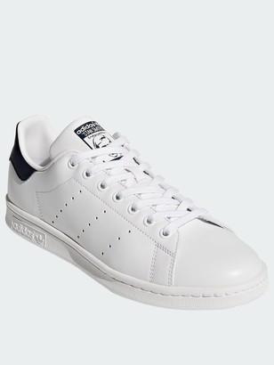 0c83fe07ea adidas Stan Smith Trainers - White/Navy
