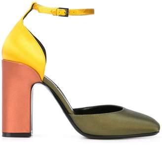 Fabrizio Viti colour block sandals