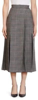 Erdem Ifanna Check Midi Skirt