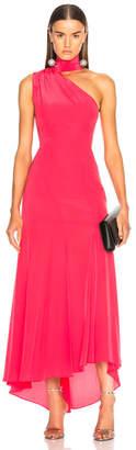 Nicholas Tie Neck Maxi Dress