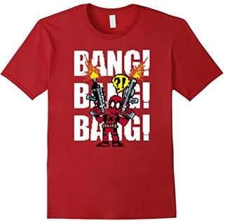 Marvel Deadpool Bang Bang Graphic T-Shirt
