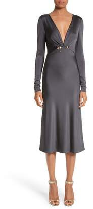 Cushnie et Ochs Magdelena Ring Detail Jersey Dress