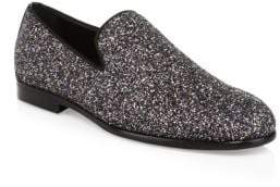 Jimmy Choo Glitter Loafers
