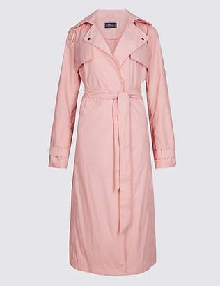 M&S Collection Stretch Trench Coat with StormwearTM