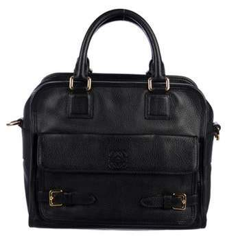 Loewe Leather Cruz Bag Black Leather Cruz Bag