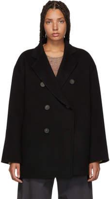 Acne Studios Black Odine Double Coat