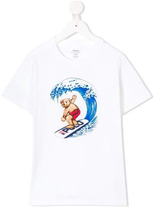 Ralph Lauren Surfing Bear T-shirt