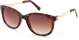 Tommy Hilfiger Tortoiseshell-Look Olivia Wayfarer Sunglasses