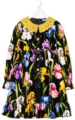 Dolce & Gabbana floral print buttoned dress