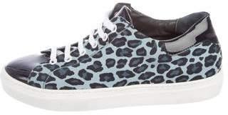 Barneys New York Barney's New York Suede Low-Top Sneakers