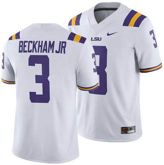 Nike Men Odell Beckham Jr. Lsu Tigers Player Game Jersey