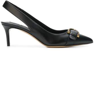 Salvatore Ferragamo Gerace buckled slingbacks