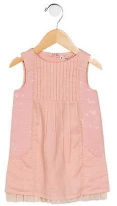 Alice + Olivia Girls' Embellished Sleeveless Dress w/ Tags