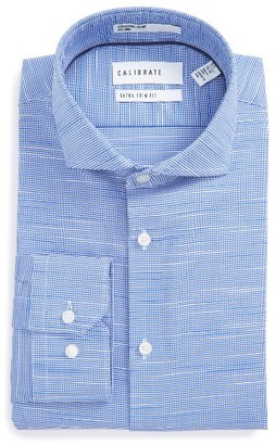 Men's Calibrate Extra Trim Fit Non-Iron Dress Shirt $69.50 thestylecure.com