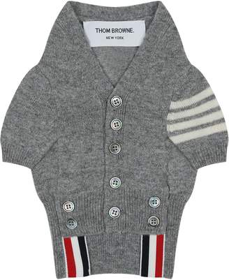Thom Browne Hector Canine Cashmere Cardigan