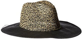 Collection XIIX Women's Mixed-Media Panama Hat $32 thestylecure.com
