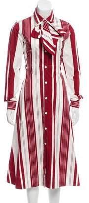 Celine Striped Midi Dress w/ Tags