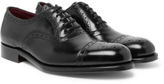 Grenson Walbrook Cap-Toe Leather Oxford Brogues
