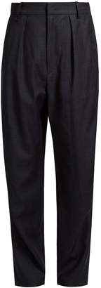 Etoile Isabel Marant Nimura wide-leg checked wool trousers