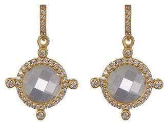 Freida Rothman 14k Gold Plated Sterling Silver Femme CZ Drop Earrings