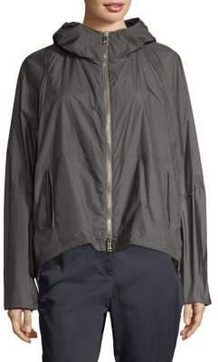 Hooded Parachute Jacket