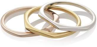 Relevée Solid Objective 18K Gold Ring