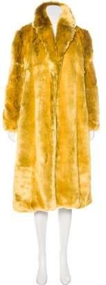 Calvin Klein 2017 Faux Fur Coat