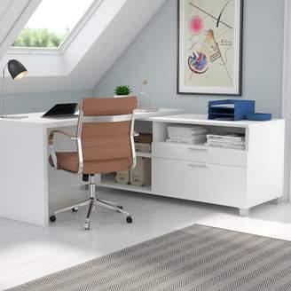 Mercury Row Ariana L-Shape Executive Desk