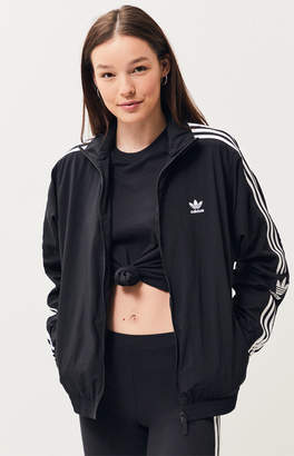 adidas Black Lock Up Track Jacket